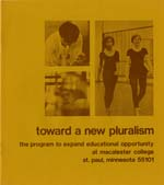 Cover of EEO Toward a New Pluralism booklet